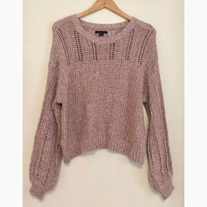 American Eagle chunky pullover knit sweater top